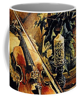The Struggle Within Coffee Mug by Sheila Mcdonald