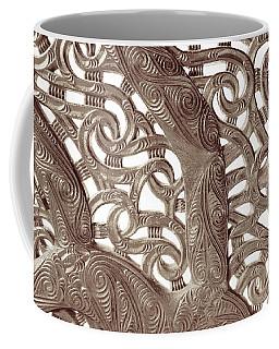 Maori Abstract Coffee Mug