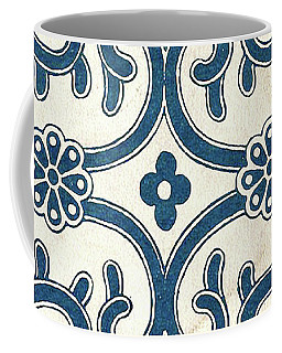 Blue Oriental Vintage Tile 02 Coffee Mug
