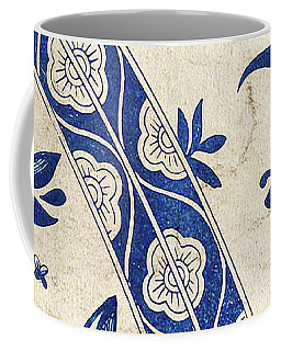 Blue Oriental Vintage Tile 04 Coffee Mug