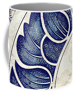Blue Oriental Vintage Tile 05 Coffee Mug