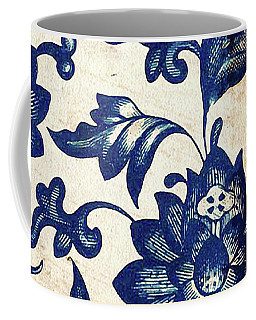 Blue Oriental Vintage Tile 06 Coffee Mug