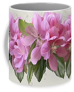 Coffee Mug featuring the painting Pink Blossoms by Ivana Westin