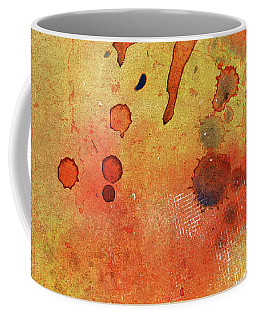Orange Color Splash Coffee Mug