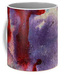 Purple Color Splash Coffee Mug