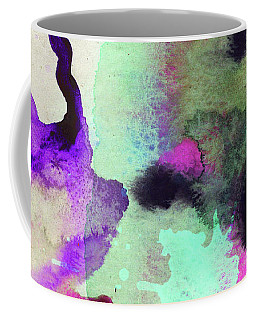 Green Color Splash Coffee Mug