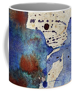 Blue Color Splash Coffee Mug