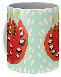 Decorative Beautiful Abstract Tulip Coffee Mug