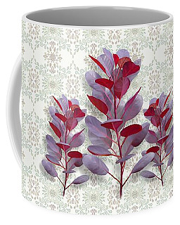 Coffee Mug featuring the painting Royal Purple by Ivana Westin