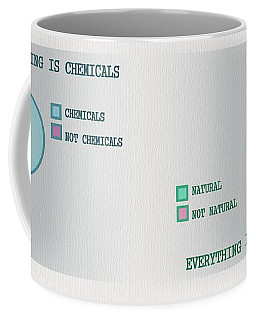Coffee Mug featuring the digital art Everything Is by Ivana Westin