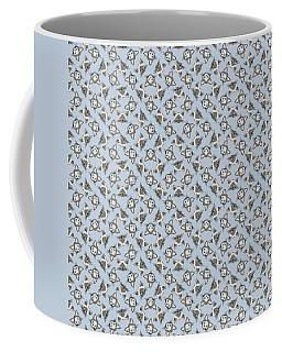 Siamese Cat Face With Blue Eyes Light Coffee Mug