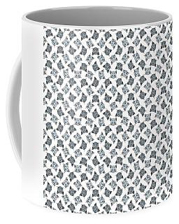 Cute Gray Tabby Cat Face Coffee Mug