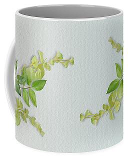 Yellow Tiny Flowers Coffee Mug