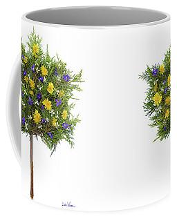 Dandelion Violet Tree Coffee Mug