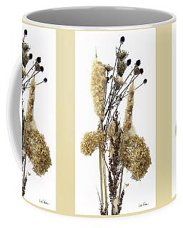 Cattails And November Flowers II Coffee Mug