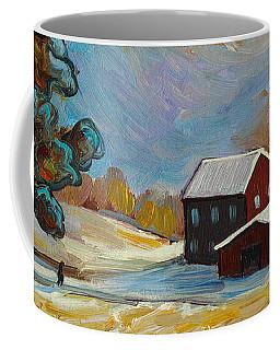Winter Corn Coffee Mug