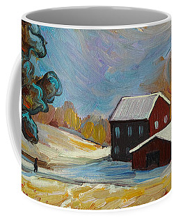 Winter Corn Coffee Mug