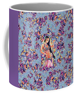 Dancing In The Mystery Of Shahrazad Coffee Mug