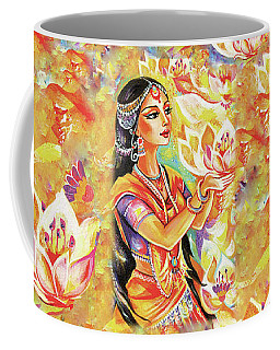 Pray Of The Lotus River Coffee Mug