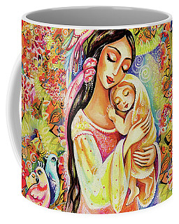 Little Angel Dreaming Coffee Mug