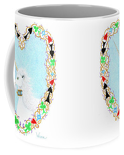 Heart With Unicorn Coffee Mug