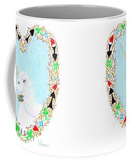 Heart With Unicorn Coffee Mug