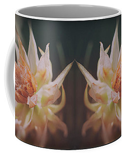 Coffee Mug featuring the photograph Blushing Bride by Linda Lees