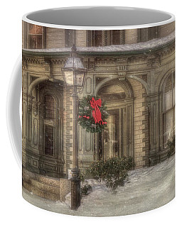Victorian Holidays - Portsmouth Nh Coffee Mug by Joann Vitali