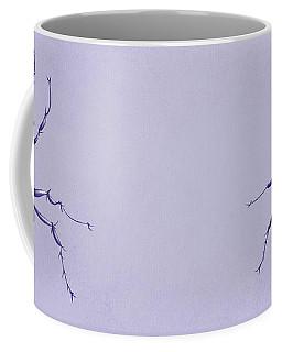 Drawn Purple Ant Coffee Mug