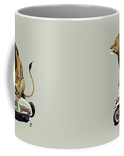 Lamb Colour Coffee Mug by Rob Snow