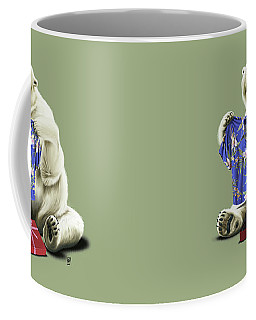 Cool Colour Coffee Mug by Rob Snow