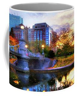 Autumn In The Park - Boston Public Garden Coffee Mug