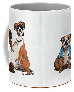 Raging Wordless Coffee Mug