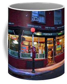 Prince Postale - Boston North End Coffee Mug by Joann Vitali