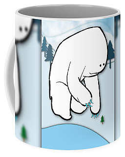 Gentle Giant Wintertime Coffee Mug by Uncle J's Monsters