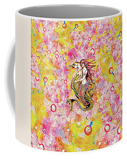 Black Sea Mermaid Coffee Mug