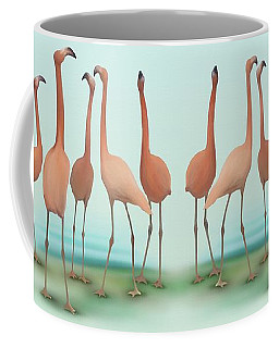 Flamingo Mingle Coffee Mug