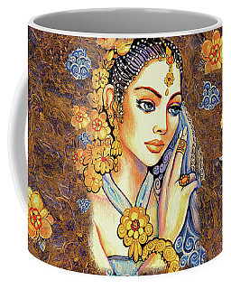 Coffee Mug featuring the painting Amari by Eva Campbell