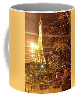 Eiffel Tower By Bus Tour Coffee Mug