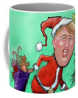Santa Trump Coffee Mug by Kevin Middleton