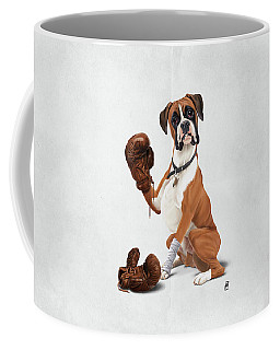 The Boxer Wordless Coffee Mug