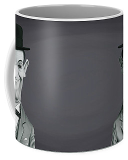 Celebrity Sunday - Stan Laurel Coffee Mug by Rob Snow