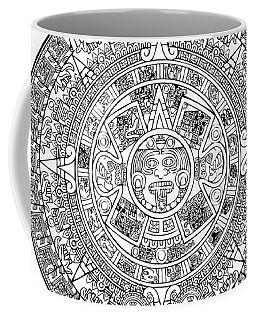 Aztec Sun Coffee Mug