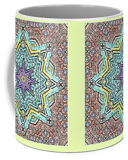 Shell Star Mandala Coffee Mug