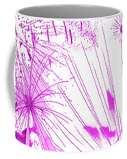 Pink Splash Watercolor Coffee Mug