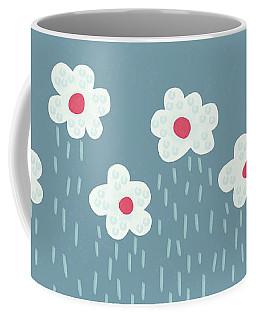Raining Flowery Clouds Coffee Mug