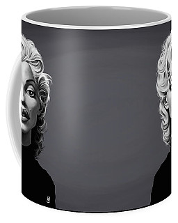 Celebrity Sunday - Marilyn Monroe Coffee Mug by Rob Snow