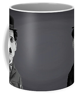 Celebrity Sunday - Charlie Chaplin Coffee Mug by Rob Snow