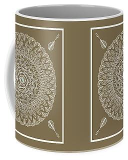 Ecru Mandala Coffee Mug