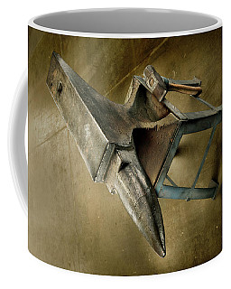 Coffee Mug featuring the photograph Anvil And Hammer by YoPedro